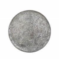 Taca dekoracyjna srebrna KITNOS