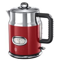 Russell Hobbs Czajnik Retro, czerwony, 2400 W, 1,7 L