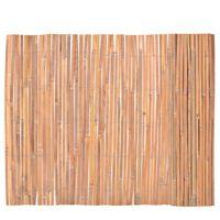 vidaXL Ogrodzenie z bambusa, 100x400 cm