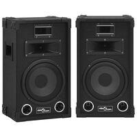 vidaXL Profesjonalne, sceniczne głośniki pasywne HiFi, 2 szt., 800 W