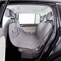 TRIXIE Pokrowiec na siedzenie samochodowe dla psa, 145 x 140 cm, szary