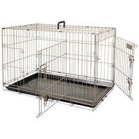 FLAMINGO Klatka dla zwierząt Ebo, brąz metalik, 61x43x50 cm, 517580