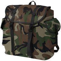 vidaXL Plecak w wojskowym stylu, 40 L, moro