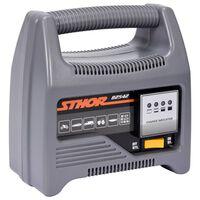 Sthor Ładowarka do akumulatorów, z LED, 12 V, 6A, 90 Ah