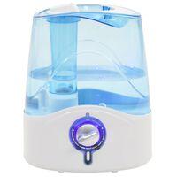 vidaXL Nawilżacz ultradźwiękowy z mgiełką i światłem, 6 L, 300 ml/h