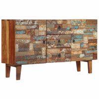 vidaXL Szafka z litego drewna odzyskanego, 140 x 40 x 80 cm