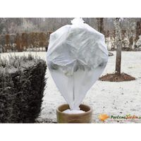 Nature Rękaw ochronny na rośliny, 30 g/m², biały, 0,64x10 m
