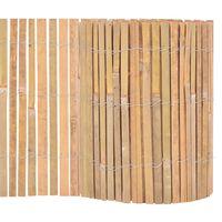 vidaXL Ogrodzenie z bambusa, 1000 x 30 cm