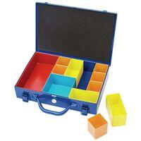 Draper Tools Organizer z 11 przegródkami, 32,9x22,5x6,5 cm, niebieski