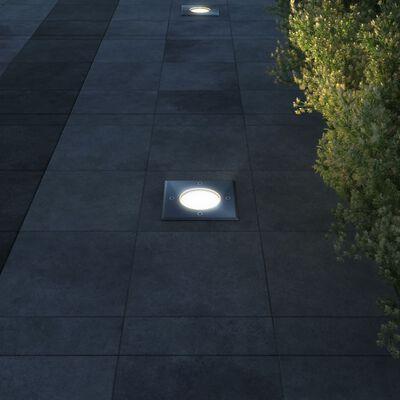 vidaXL Lampy najazdowe, 3 szt., kwadratowe