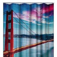 RIDDER Zasłona prysznicowa San Francisco, 180 x 200 cm