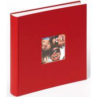 Walther Design Album na fotografie Fun, 30x30 cm, czerwony, 100 stron
