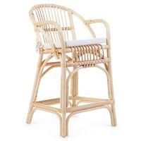 "CHILDHOME Junior Chair with Cushion ""Montana"" Rattan"