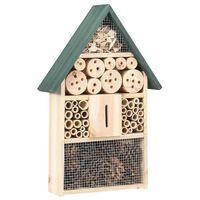 vidaXL Domek dla owadów, 31x10x48 cm, drewno jodłowe