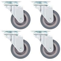 vidaXL 12 skrętnych kółek, 50 mm