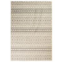 vidaXL Nowoczesny dywan we wzór tradycyjny, 80x150 cm, beżowo-szary