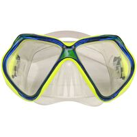 Waimea Maska do nurkowania, silikonowa, żółta/kobaltowa