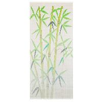 vidaXL Zasłona na drzwi, bambus, 90 x 200 cm