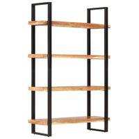 vidaXL Regał na książki z 4 półkami, 120x40x180 cm, drewno akacjowe