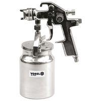 VOREL Pistolet natryskowy HVLP z pojemnikiem 1000 ml