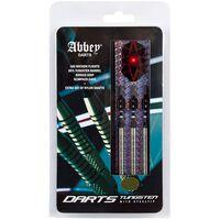Abbey Darts Zestaw rzutek, 3 szt., 85% wolfram, 26 g, srebrne