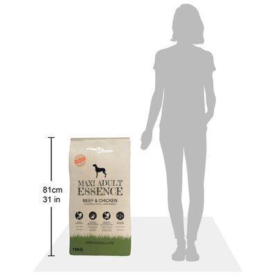 vidaXL Sucha karma dla psów Maxi Adult Essence Beef&Chicken, 2 x 30 kg