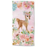 Good Morning Ręcznik plażowy SWEET, 75x150 cm, różowy