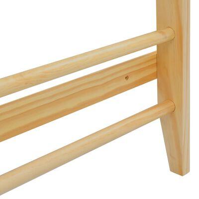 vidaXL Drabinka gimnastyczna, przyścienna, 80 x 15,8 x 195 cm, drewno