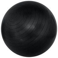 Avento Piłka fitness, 75 cm, czarna, 41VN-ZWA-75