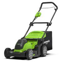 Greenworks Kosiarka do trawy 2-w-1 z akcesoriami, 40 V, 41 cm