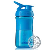 BlenderBottle Shaker SportMixer, 590 ml, cyjan