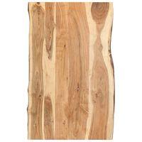 vidaXL Blat, lite drewno akacjowe, 100x(50-60)x3,8 cm