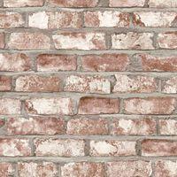 DUTCH WALLCOVERINGS Tapeta z motywem czerwonych cegieł, EW3102