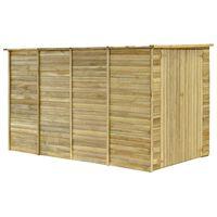 vidaXL Szopa na narzędzia, 315x159x178 cm, impregnowane drewno sosnowe