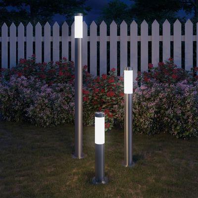 Zestaw trzech lamp ogrodowych (E27, 230V)