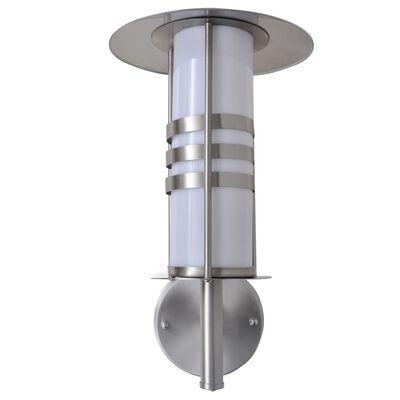 Ścienna lampa ze stali nierdzewnej w kształcie pagody