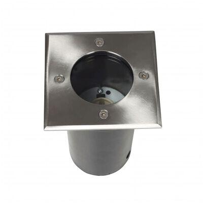vidaXL Lampy najazdowe, 12 szt., kwadratowe