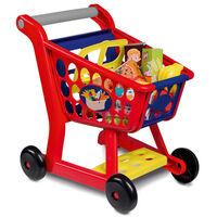 Happy People Zabawkowy wózek sklepowy, plastikowy, kolorowy