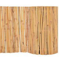 vidaXL Ogrodzenie z bambusa, 500 x 30 cm