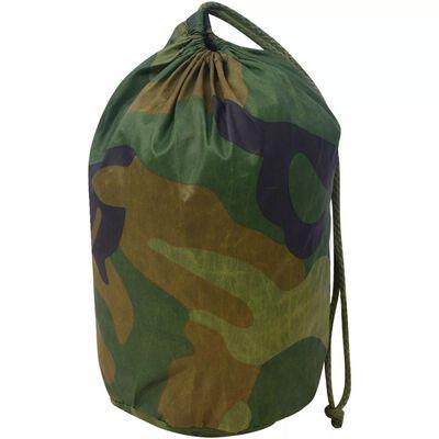 vidaXL Siatka maskująca z torbą do przechowywania, 4x4 m
