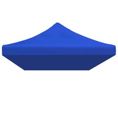 vidaXL Dach namiotu imprezowego, 3 x 6 m, niebieski