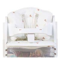 CHILDHOME Poduszka do wysokiego krzesełka Jersey Hearts