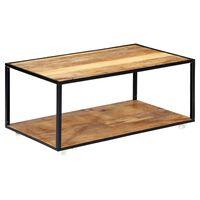 vidaXL Stolik kawowy, 90x50x40 cm, lite drewno z odzysku