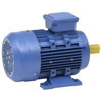 vidaXL Silnik elektr. 3-fazy, aluminium, 4 kW/5,5 KM 2 P 2840 obr./min