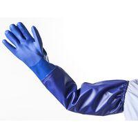 HEISSNER Rękawica długa, L, niebieska