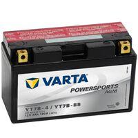 Varta Akumulator AGM, 12 V, 7 Ah, YT7B-4 / YT7B-BS