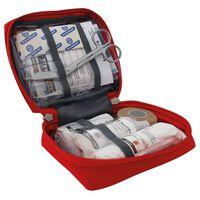 Travelsafe 23-częściowy zestaw pierwszej pomocy Globe Basic, czerwony