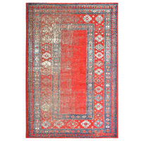 vidaXL Dywan, czerwony, 160 x 230 cm, PP