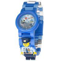 LEGO City Zegarek na rękę Policjant, plastikowy, niebieski, 8021193
