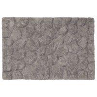 Sealskin Dywanik łazienkowy Pebbles, bawełna, 60x90 cm, szary